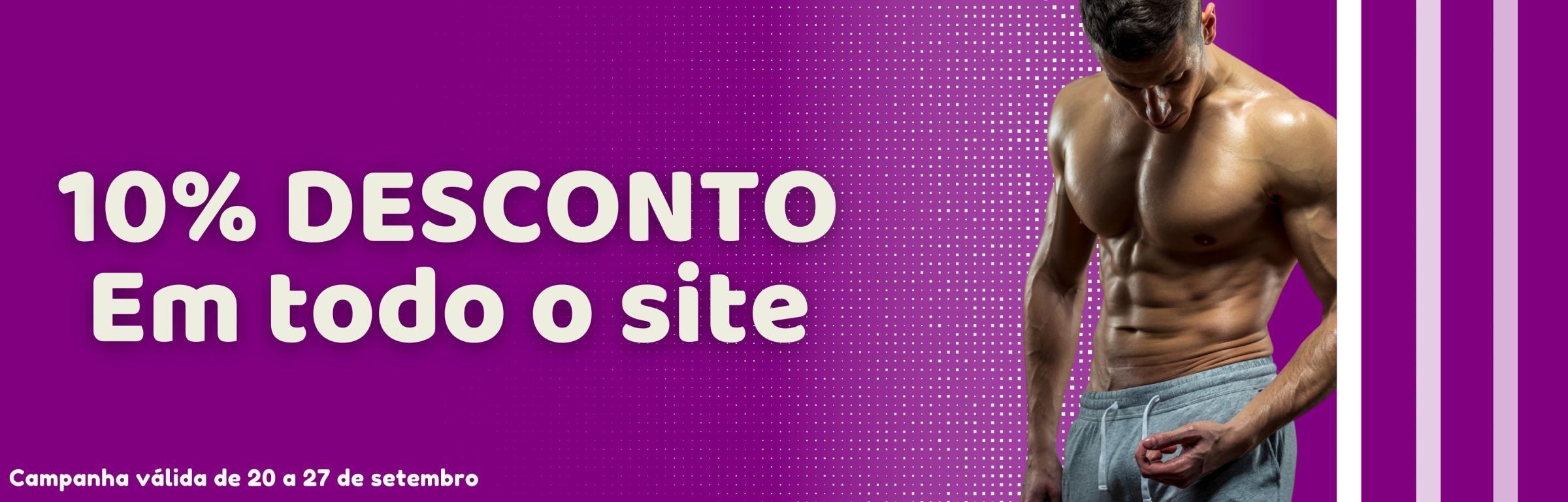 20 a 27 setembro - todo o site com 10% desconto - 20 a 27 - todo o site com 10% desconto